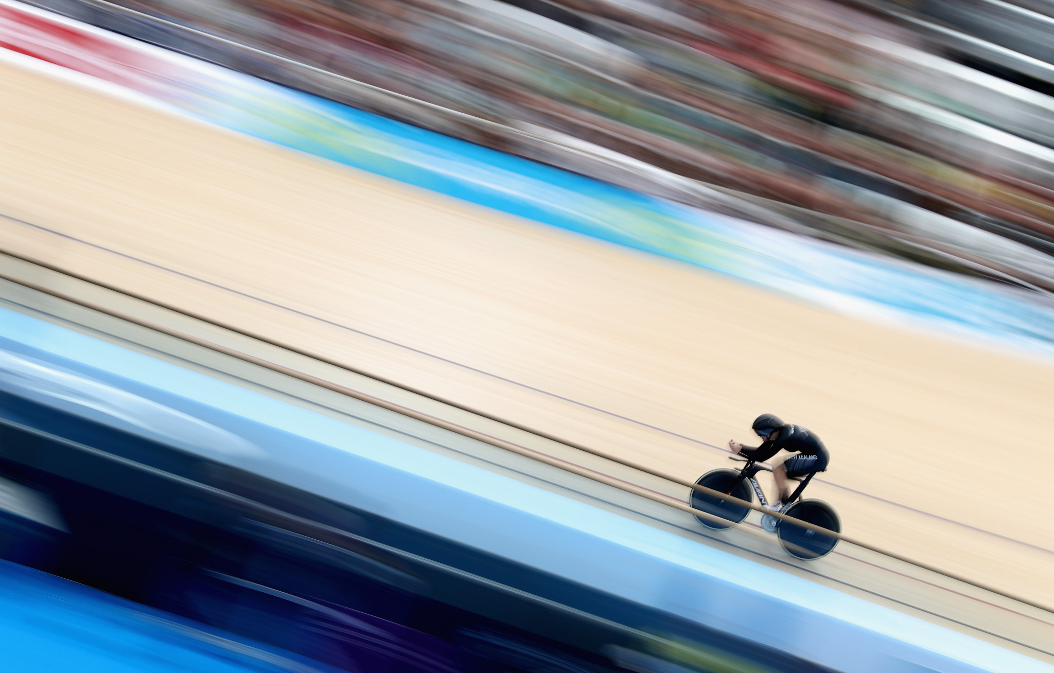 Ellesse Andrews took gold in the women's keirin ©Getty Images
