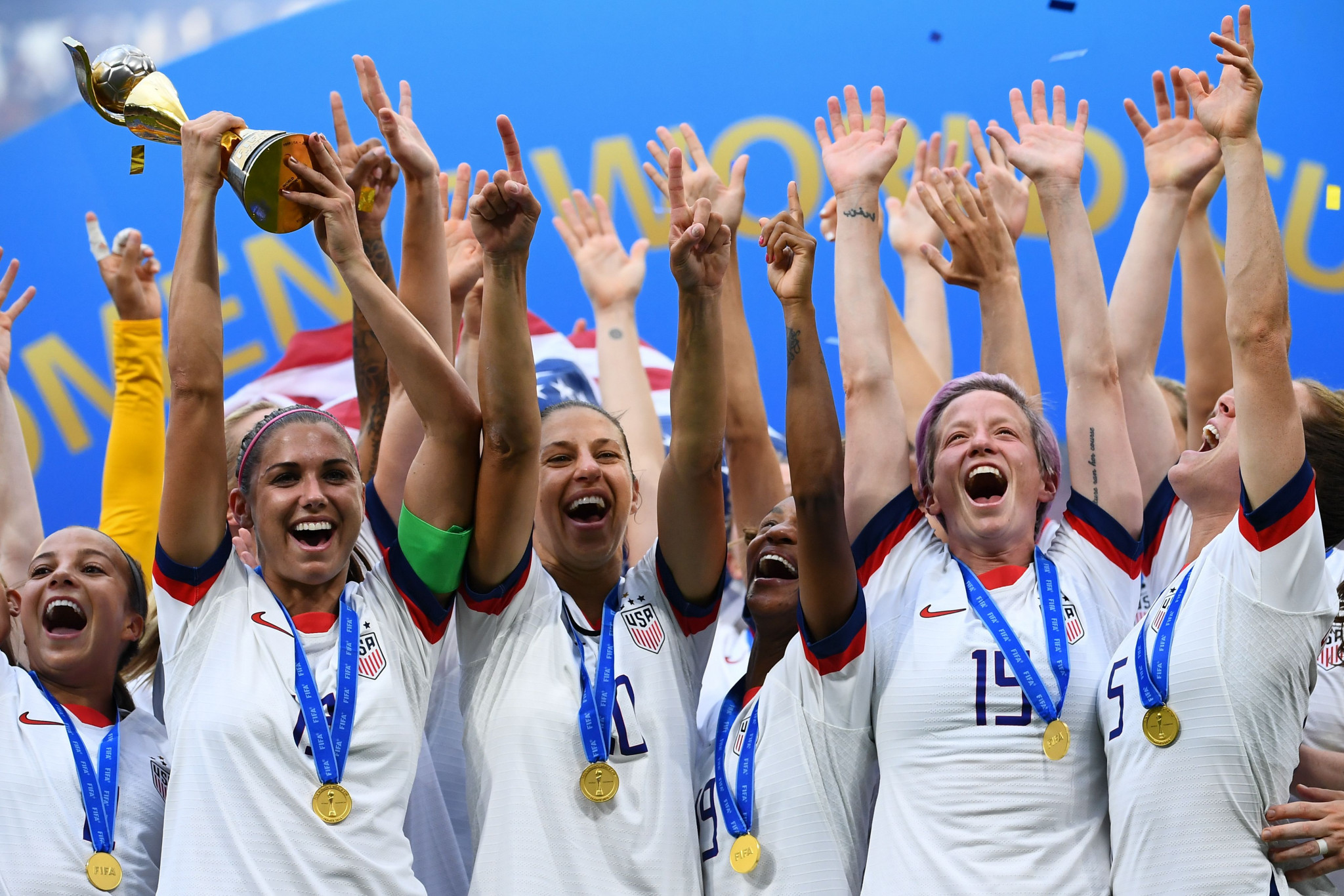 United States' victory in the final was the most-watched FIFA Women's World Cup match of all time ©Getty Images