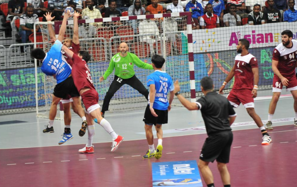 Perfect start for Qatar at Asian men's handball Tokyo 2020 qualifier