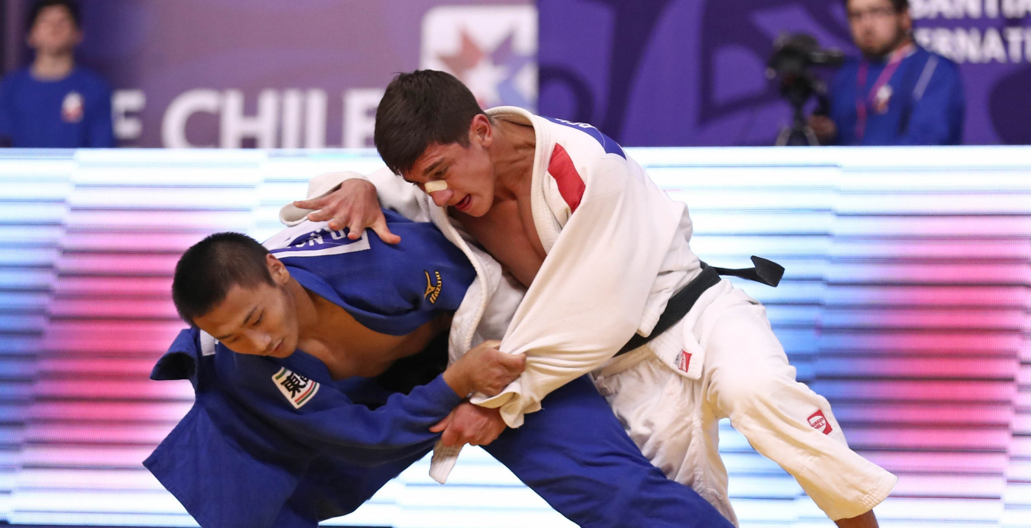 Lasha Bekauri successfully defended his title in the men's under-90kg category ©IJF/Mayorova Marina