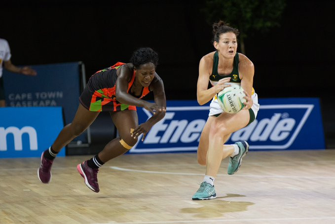South Africa's second victory of the day was against Malawi ©South Africa Netball