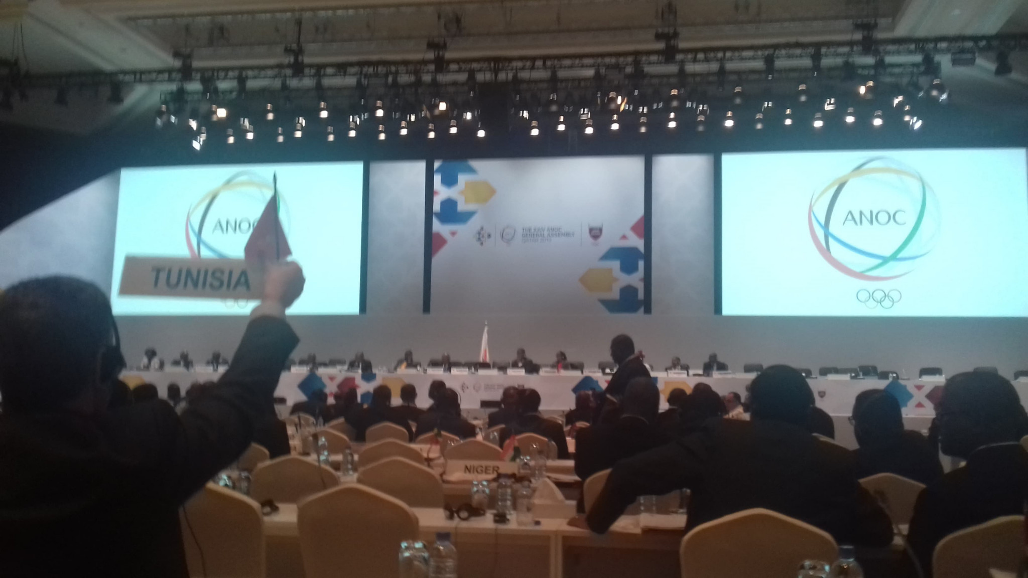 Delegates raised several proposals to ANOCA during a two-hour meeting ©ITG