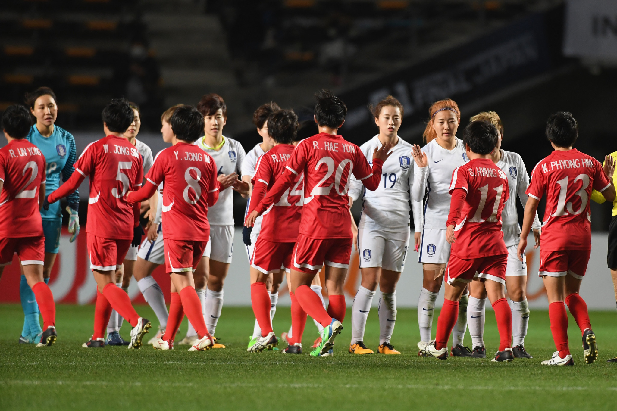 North Korea and South Korea drawn together in AFC women's qualifying for Tokyo 2020