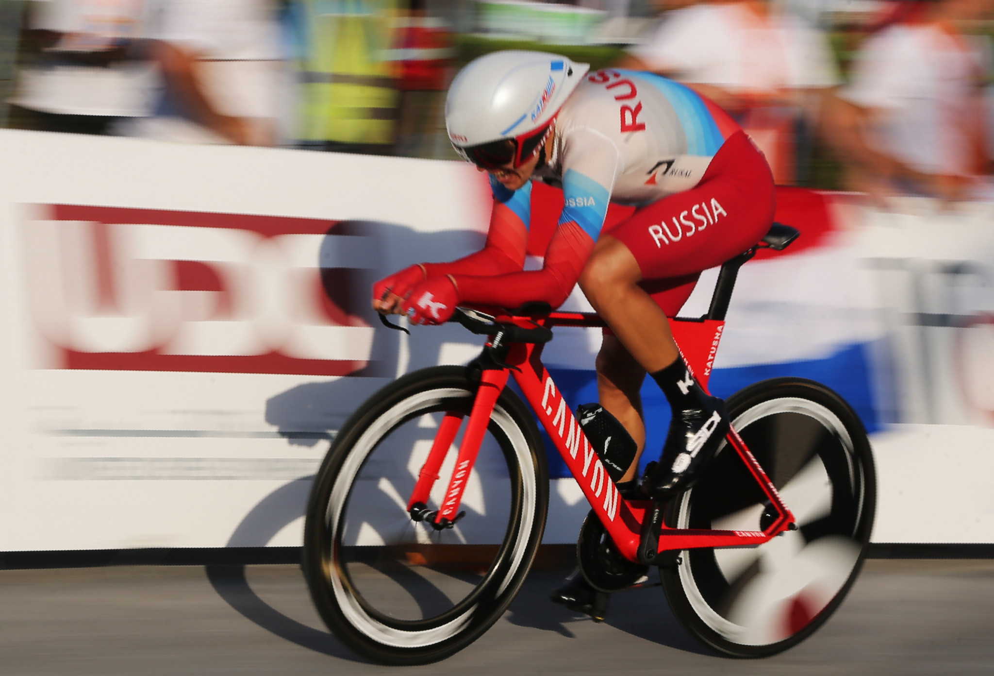 Cyclists Vorobyev and Eraud claim individual time trial titles at World Military Games