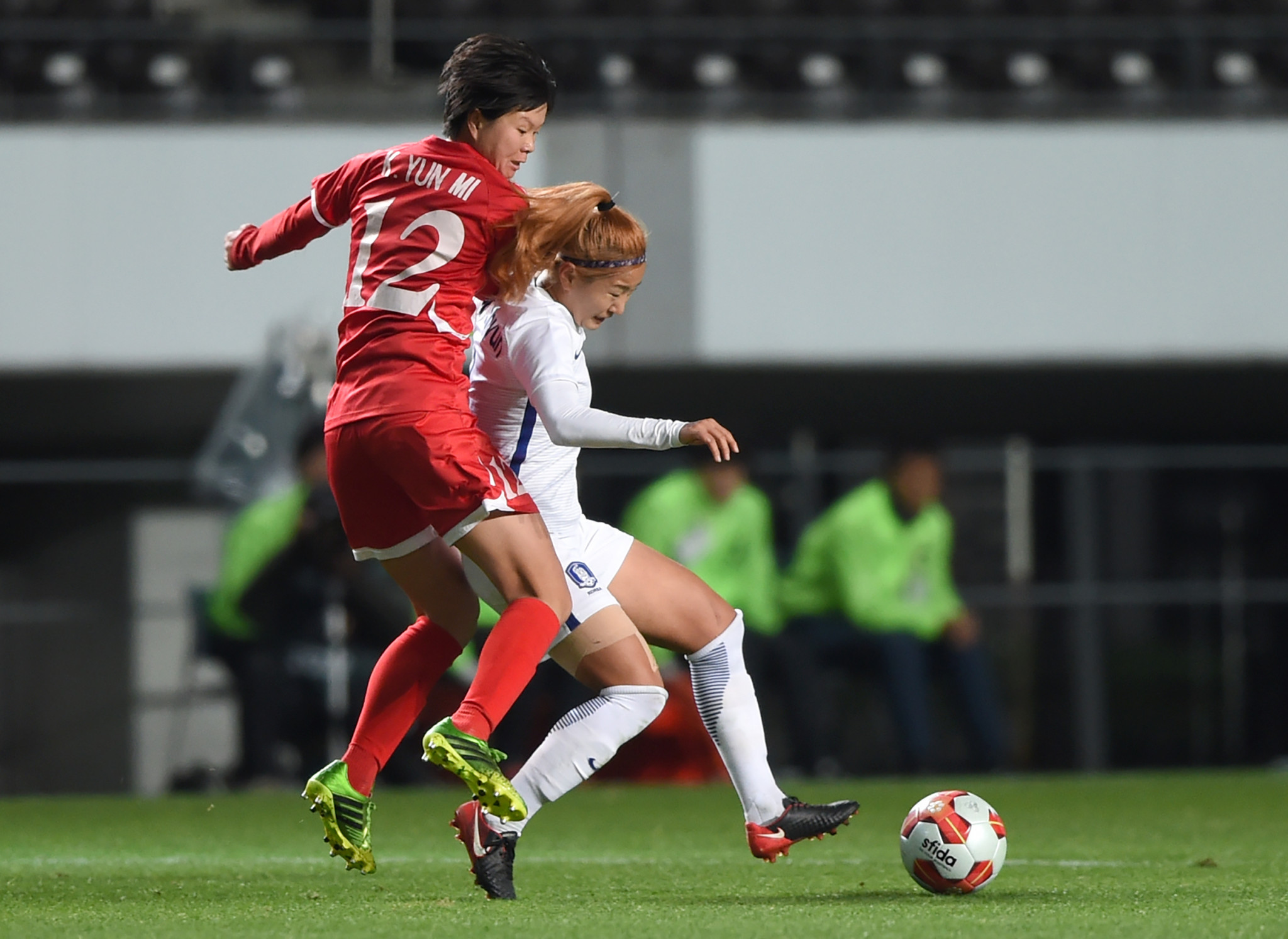 South Korea have only beaten North Korea once in women's football ©Getty Images