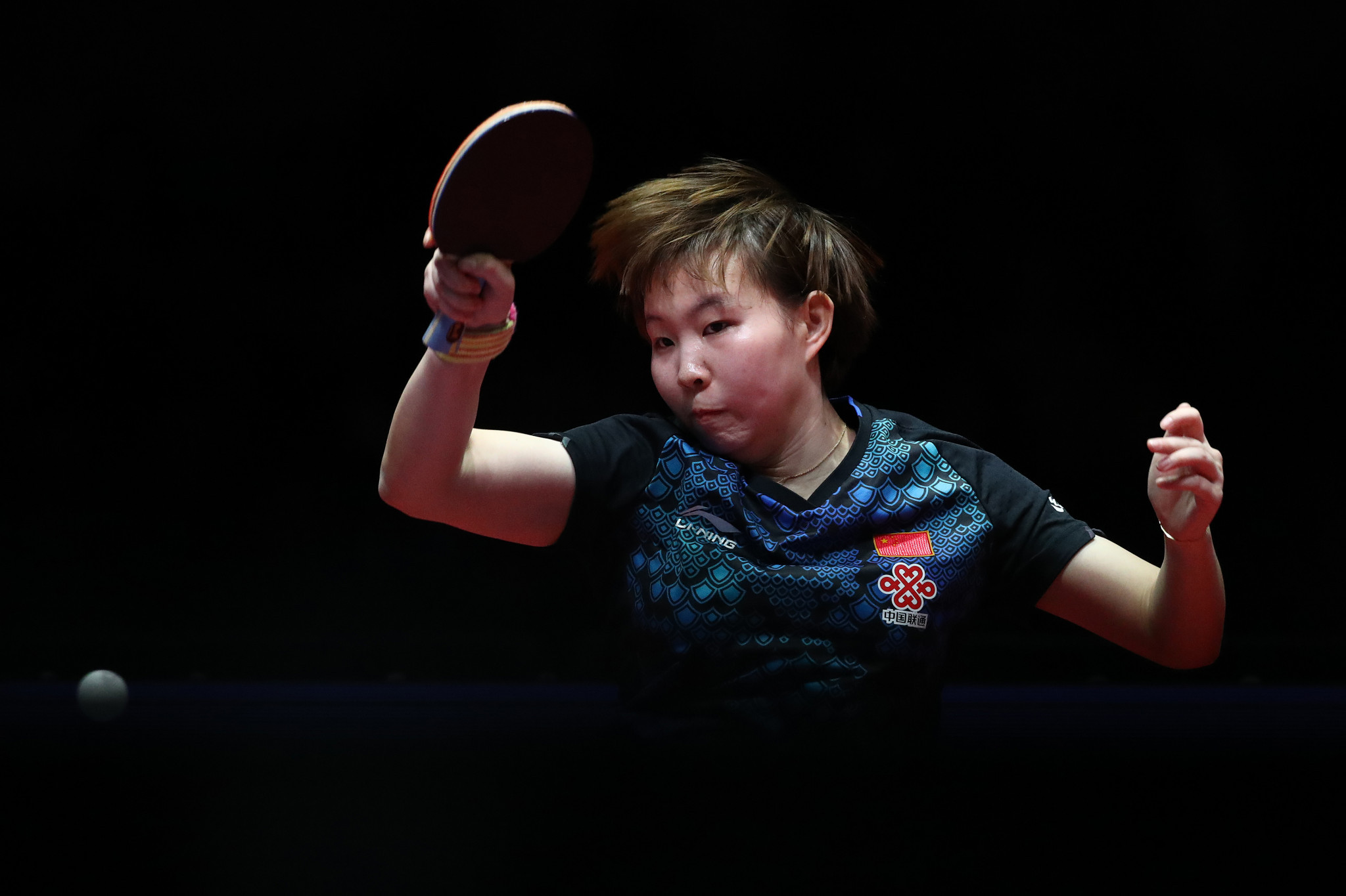 Zhu and Liu cruise into semi-finals at ITTF Women's World Cup