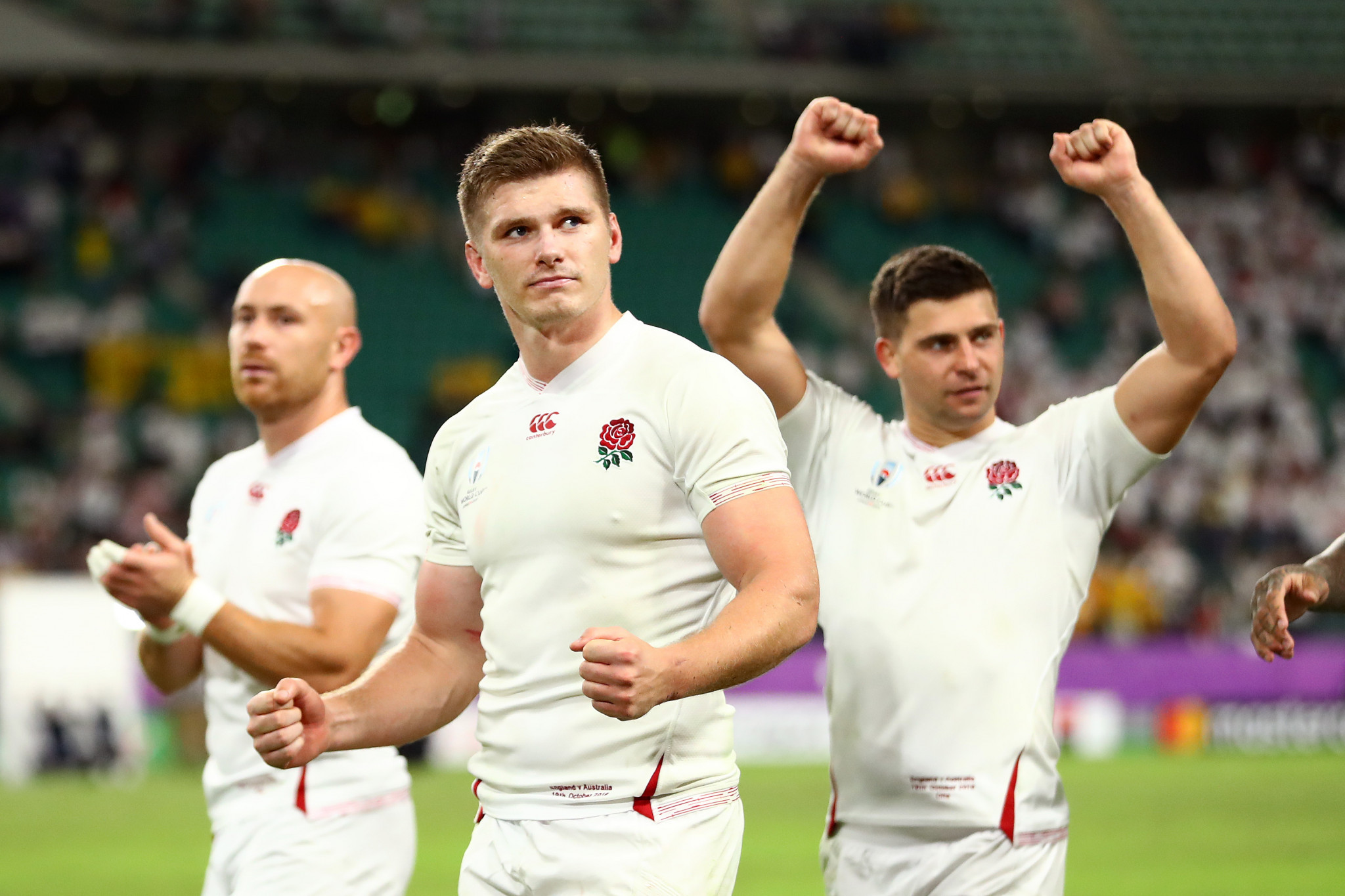 England can celebrate today, but know the All Blacks are waiting ©Getty Images
