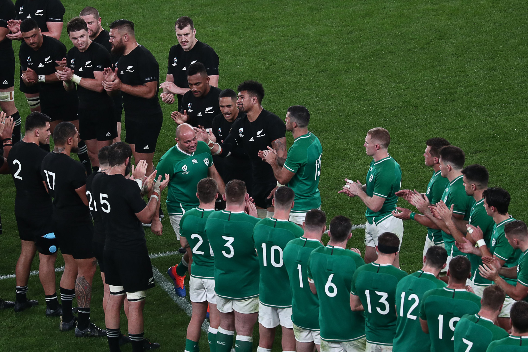It was a bittersweet rugby farewell for Ireland captain Rory Best ©Getty Images