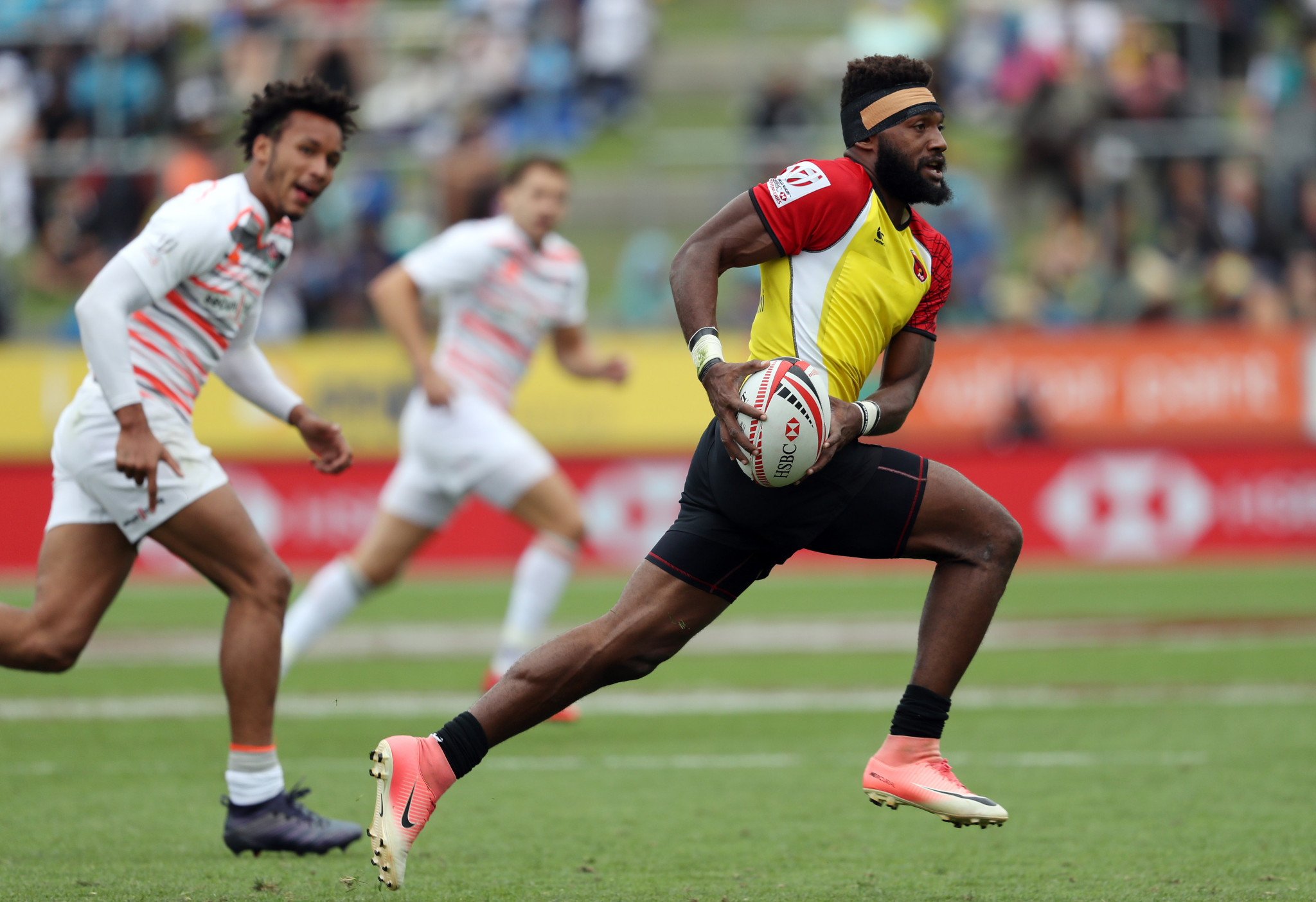 Papua New Guinea's rugby sevens team is aiming to qualify for Tokyo 2020 ©Getty Images