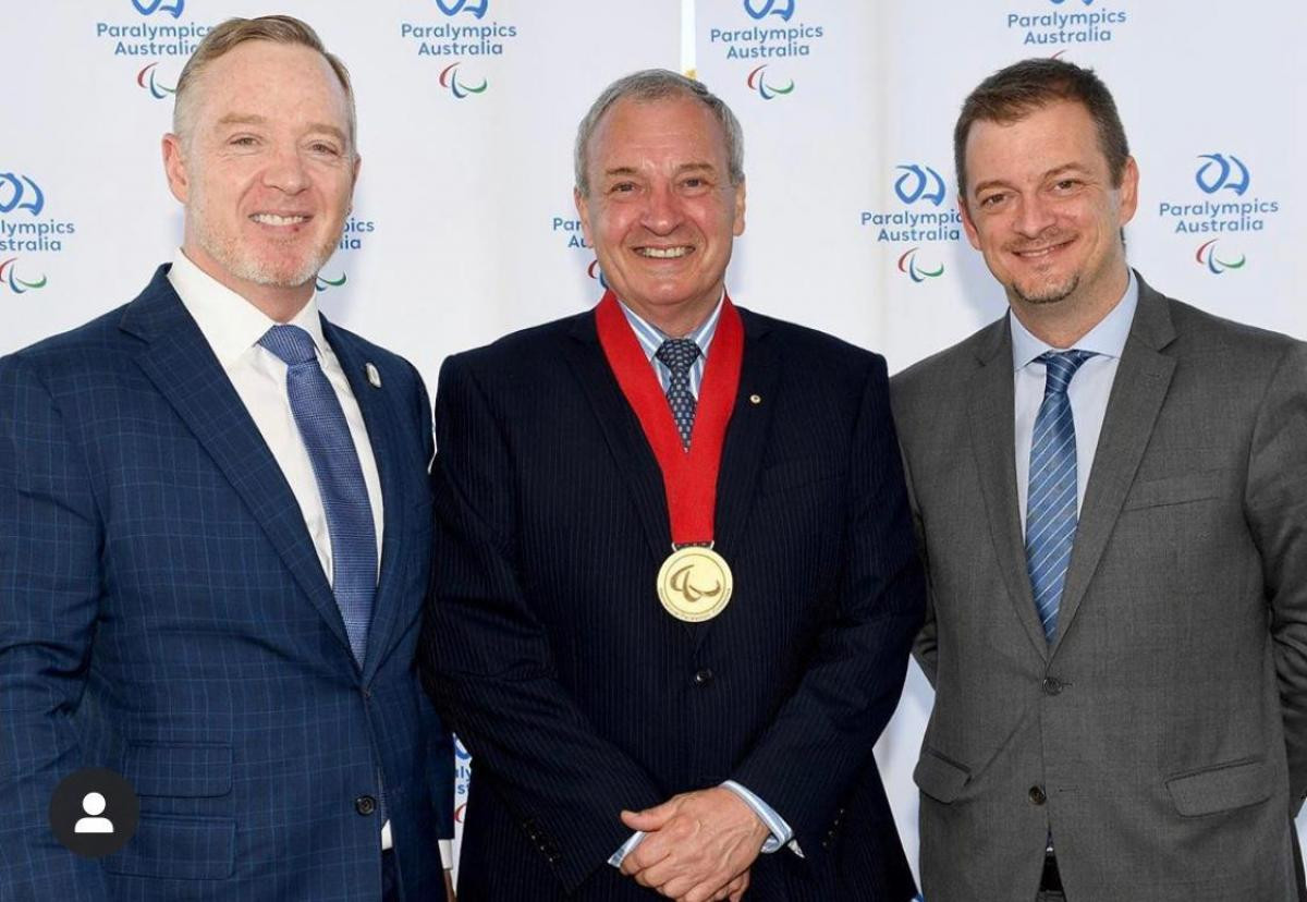 Greg Hartung has been bestowed with the Paralympic Order - the IPC's highest honour ©IPC