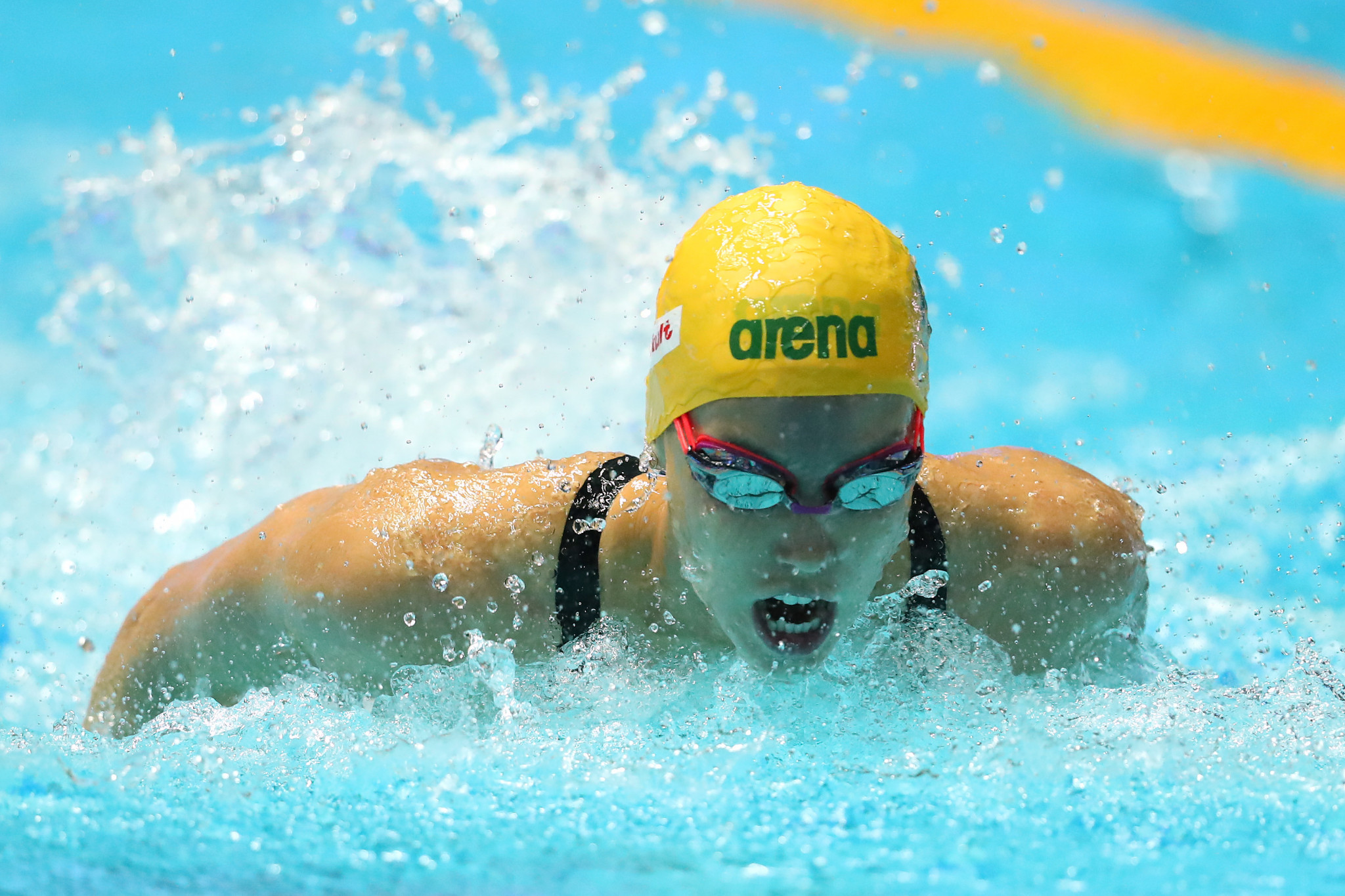Emma McKeon impressed for London Roar at the International Swimming League leg in Lewisville ©Getty Images