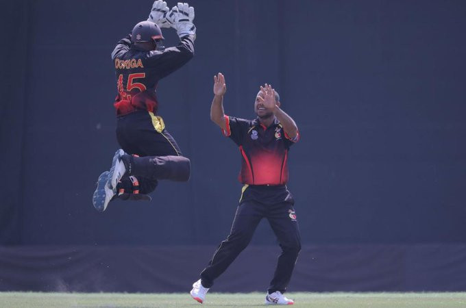 Papua New Guinea remain unbeaten at the ICC T20 World Cup Qualifier ©T20 World Cup/Twitter