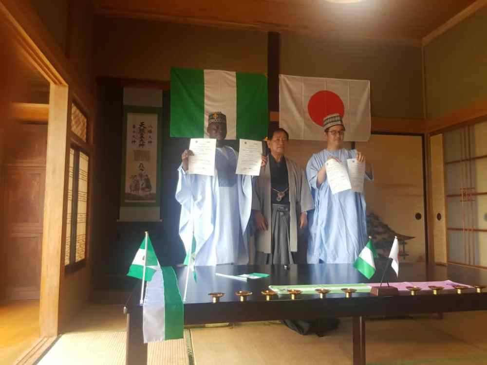A plan for a Nigeria House at next year's Olympic and Paralympic Games in Tokyo was launched in August ©Nigeria House