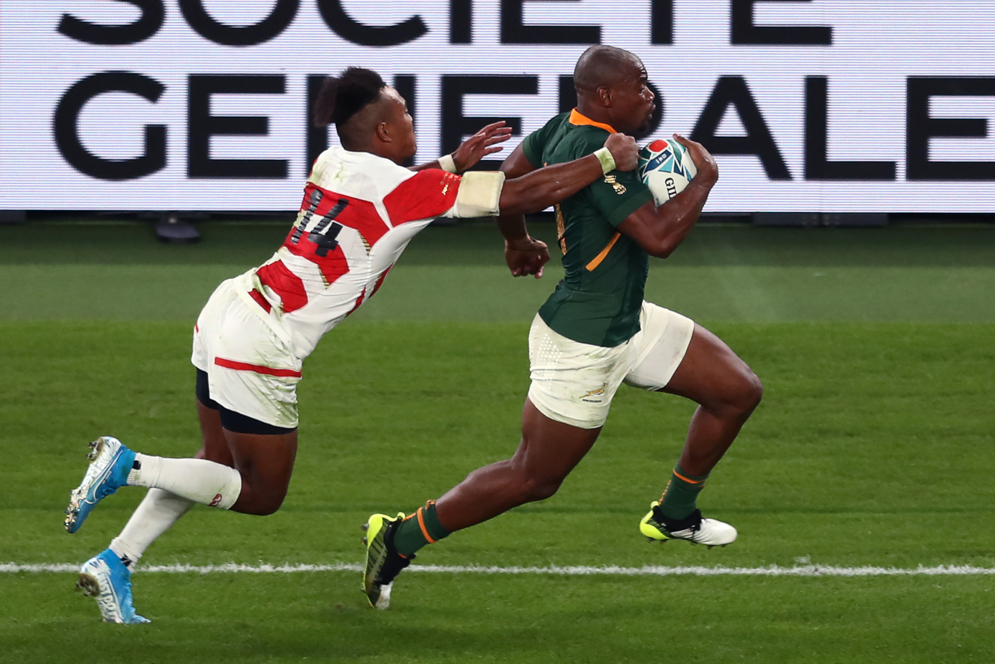 South Africa proved to be too strong for Japan, triumphing 26-3 ©Getty Images