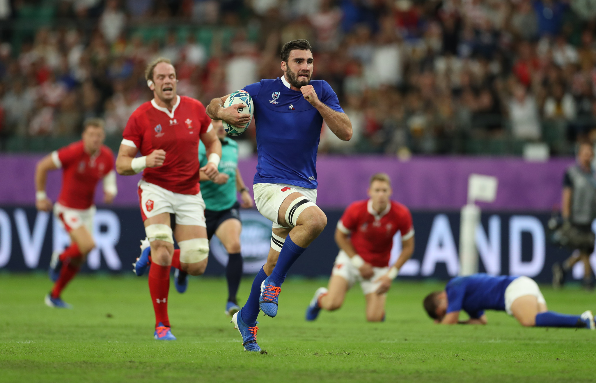 France were the better team in the second half, leading 19-10 ©Getty Images