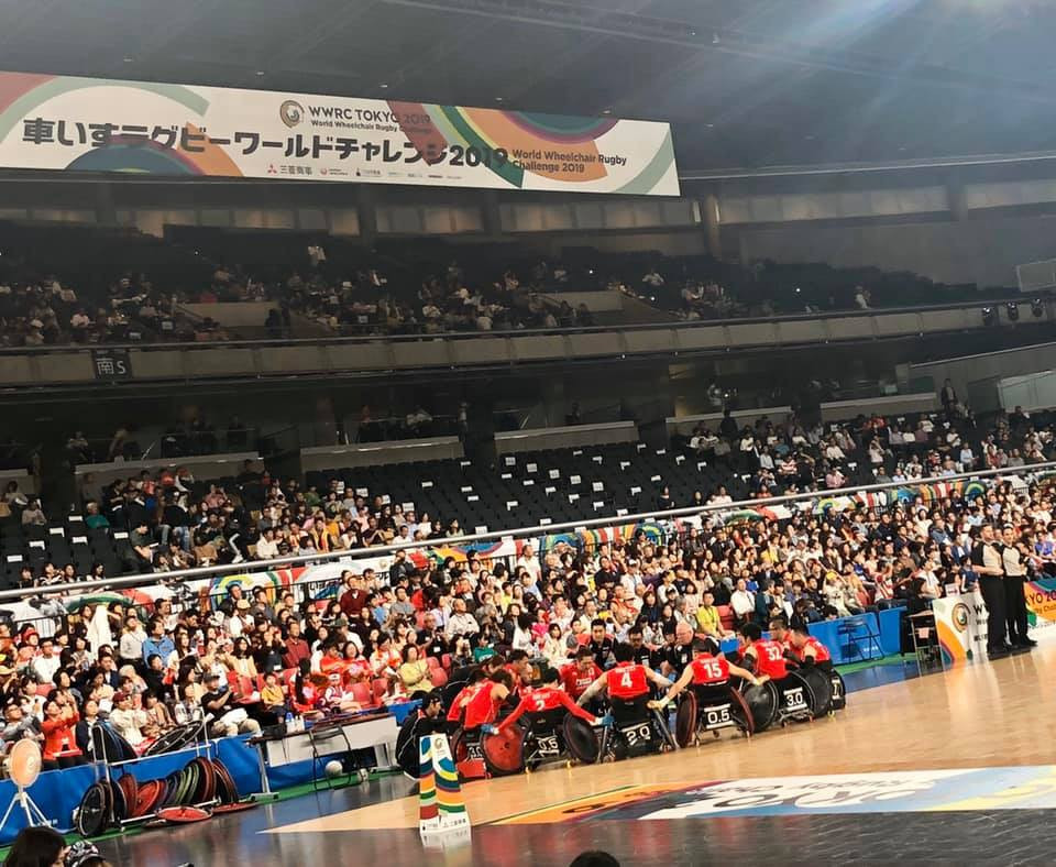 Japan took the bronze medal at the World Wheelchair Rugby Challenge in front of an excited home crowd in Tokyo ©World Wheelchair Rugby Challenge
