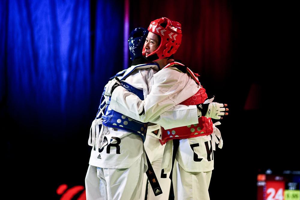 Wu Jingyu won the women's under-49 kilograms event at the World Taekwondo Grand Prix in Sofia ©World Taekwondo