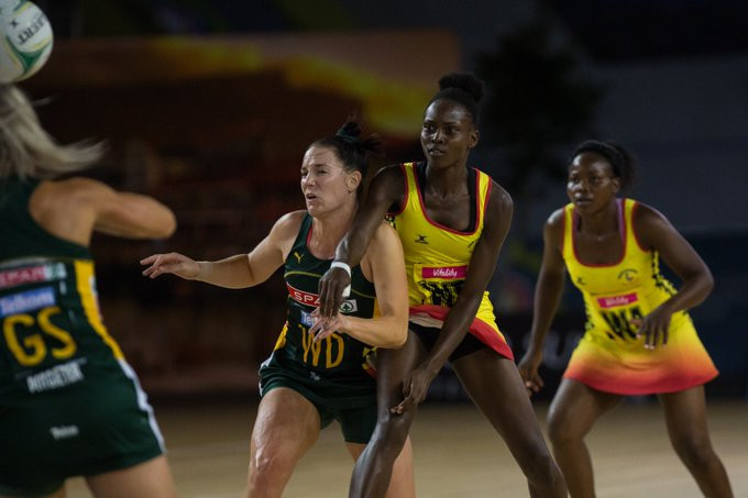 South Africa defeated Uganda at the Africa Netball Cup in Cape Town ©Netball South Africa