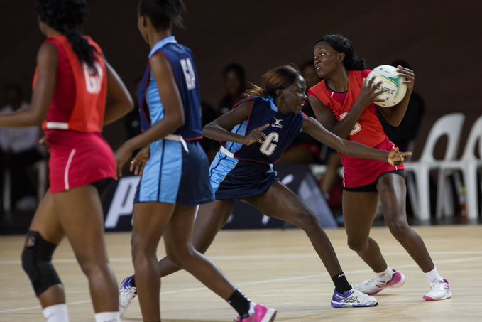 Zimbabwe recorded a victory against Kenya at the Africa Netball Cup ©Netball South Africa