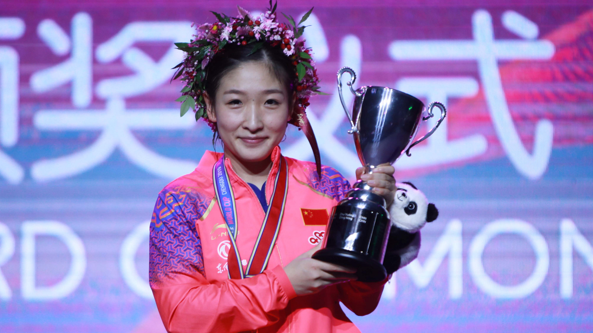 Liu defeats top seed Zhu to win ITTF Women's World Cup