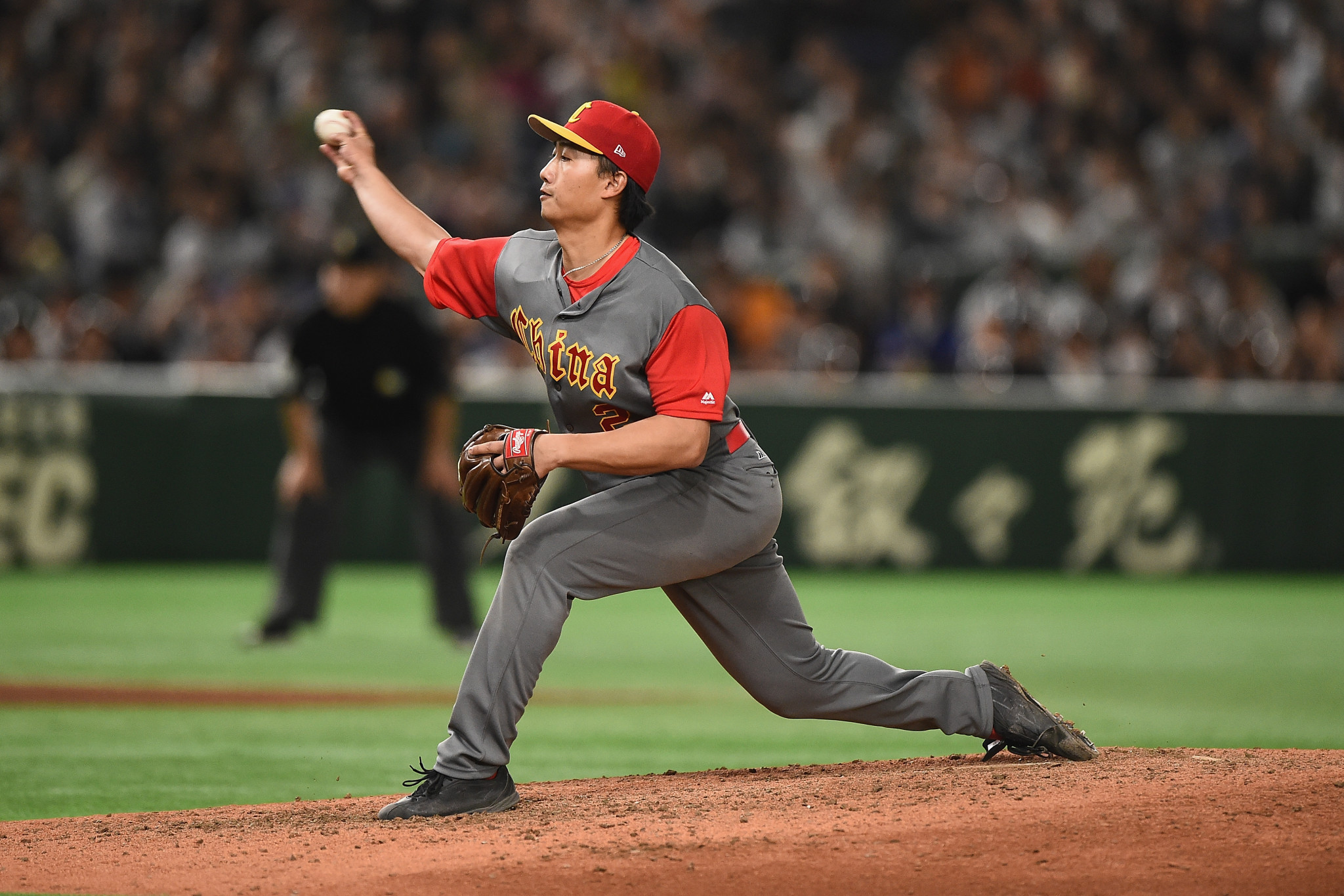 China were the bronze medallists at the Asian Baseball Championship ©Getty Images