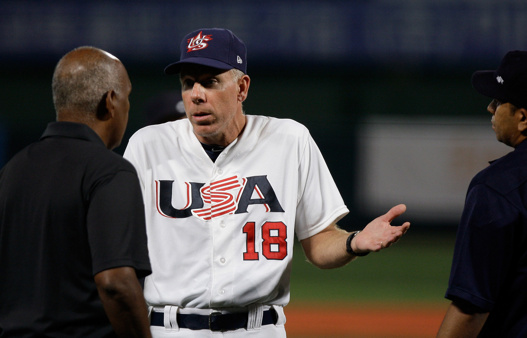 Former New York Yankees star Scott Brosius has been promoted to be the US manager for the Premier 12 ©Getty Images