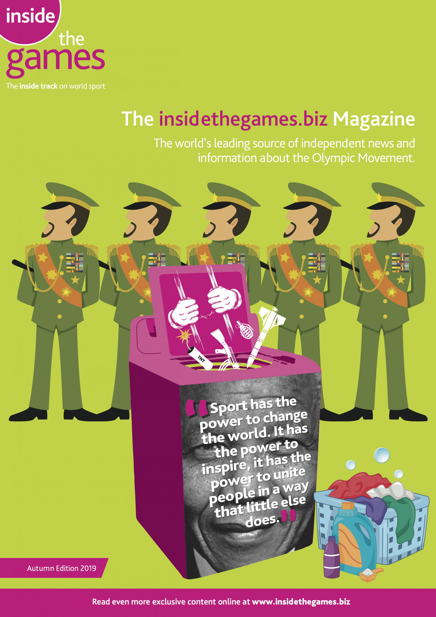 The insidethegames.biz Magazine Autumn Edition 2019