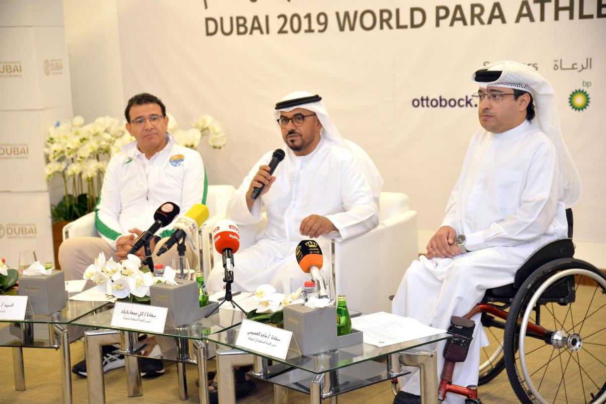 Hosts UAE name team for World Para Athletics Championships in Dubai