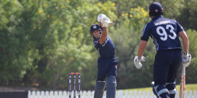 Scotland edge out Papua New Guinea in thriller at ICC T20 World Cup qualifier