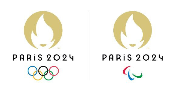 The new Paris 2024 emblem has been revealed ©Paris 2024