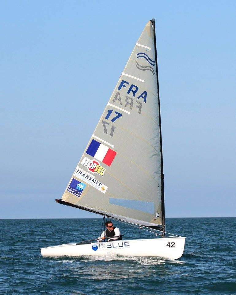 Pic stars on third day of Finn Gold Cup but Scott extends race lead