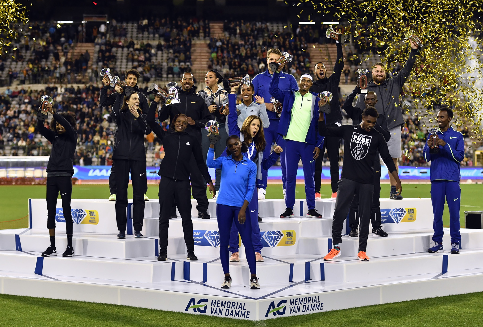 The winners of next year's IAAF Diamond League are set to be crowned in Zurich ©Getty Images