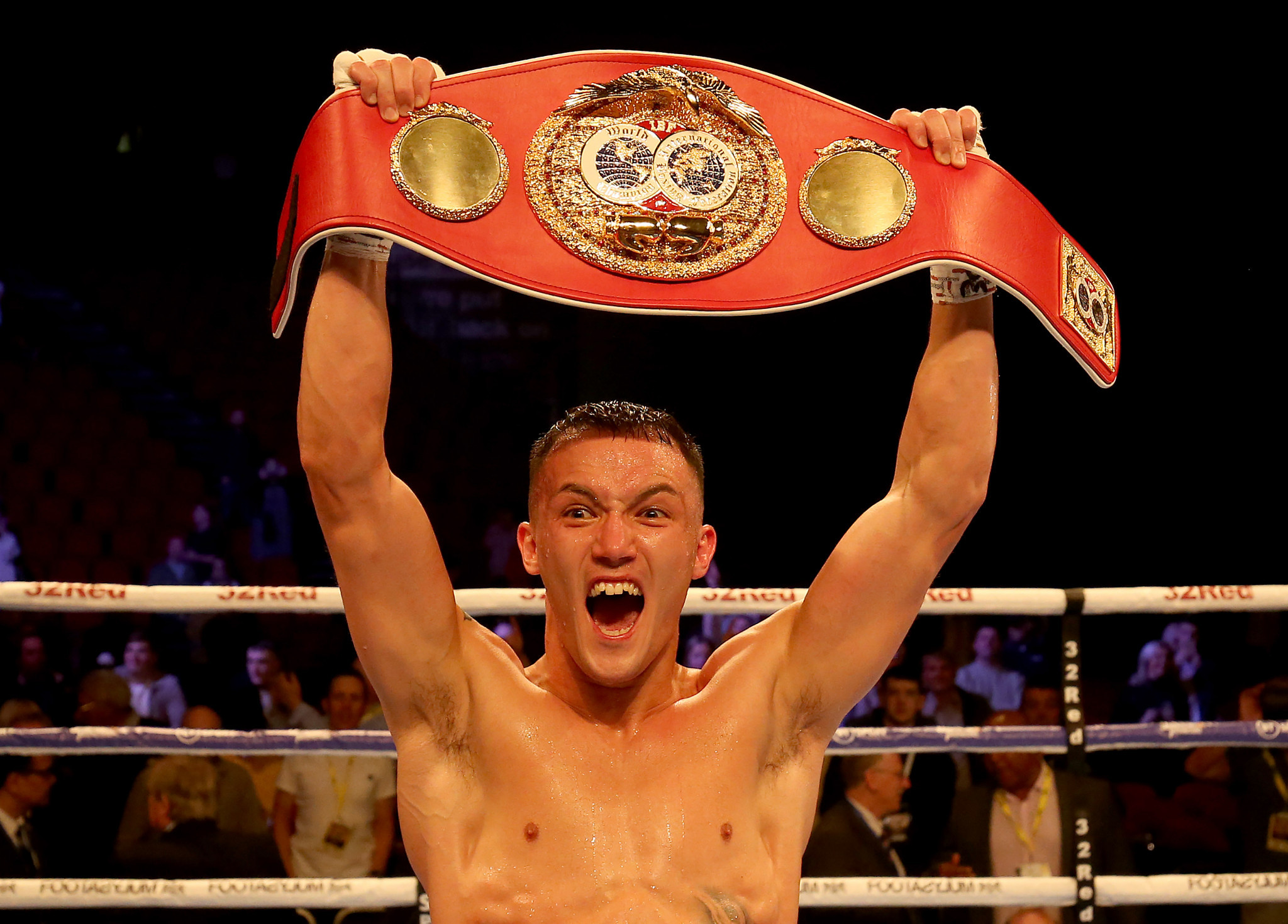 Pound for pound, Josh Warrington is British boxing's biggest entertainer ©Getty Images