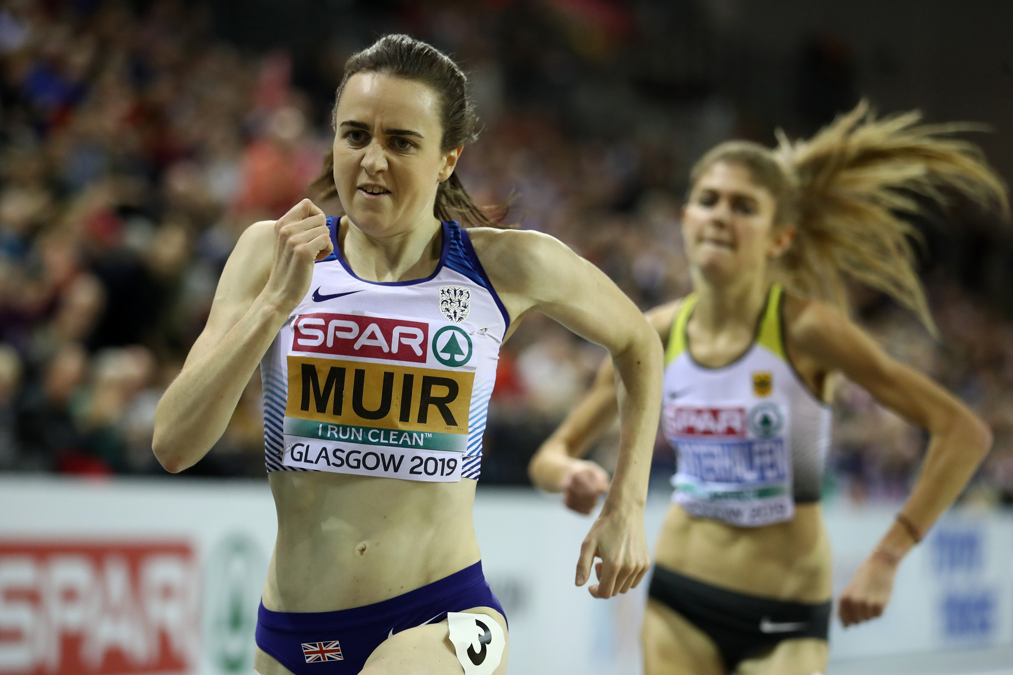 Laura Muir has established herself at the very top of women's athletics ©Getty Images