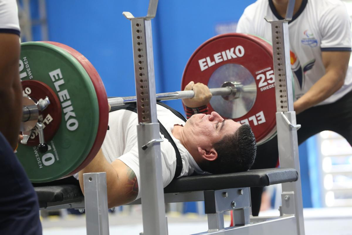Costa Rican latest to join IPC powerlifting hall of shame