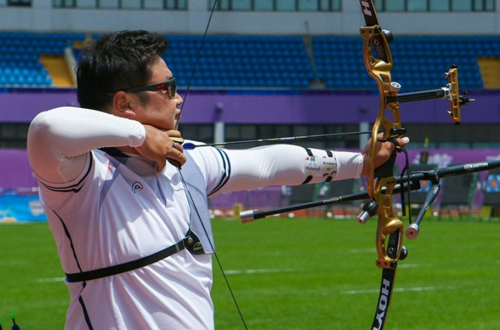 South Korean dominance at Archery World Cup continues as men's and women's teams reach recurve gold medal final