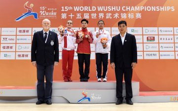 More medals were won today at the World Wushu Championships in Shanghai ©IWUF Official