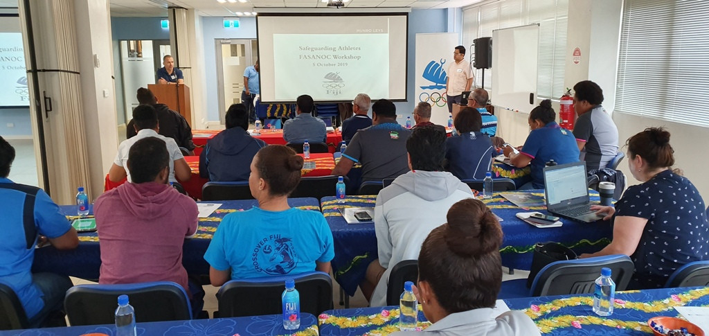 Fijian law firm Munro Leys held a workshop on safeguarding athletes in conjunction with the Fiji Association of Sports and National Olympic Commitees and National Federations ©FASANOC