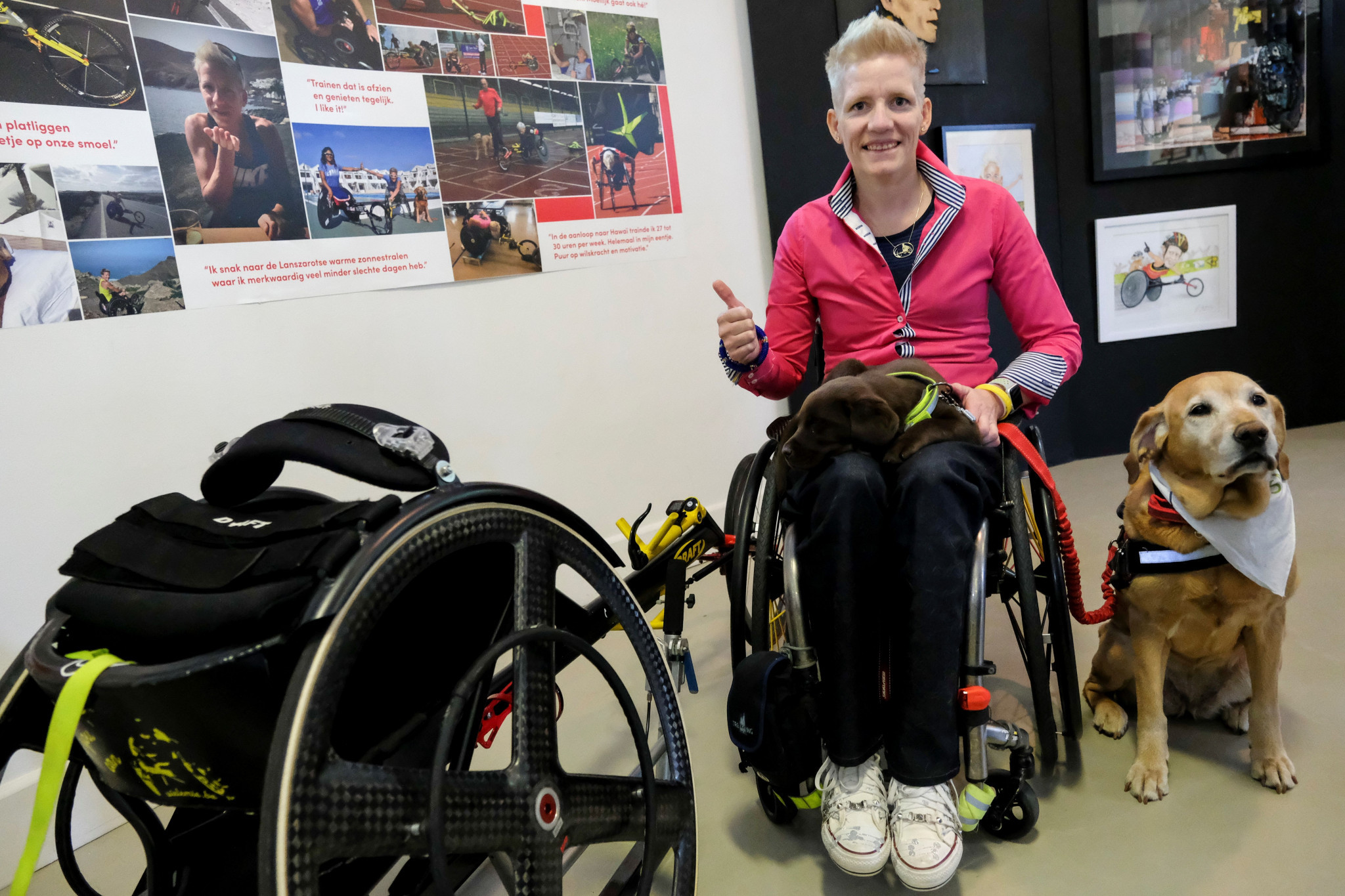 Belgian Marieke Vervoort decided to end her life through euthanasia after a long-running battle with tetraplegia ©Getty Images