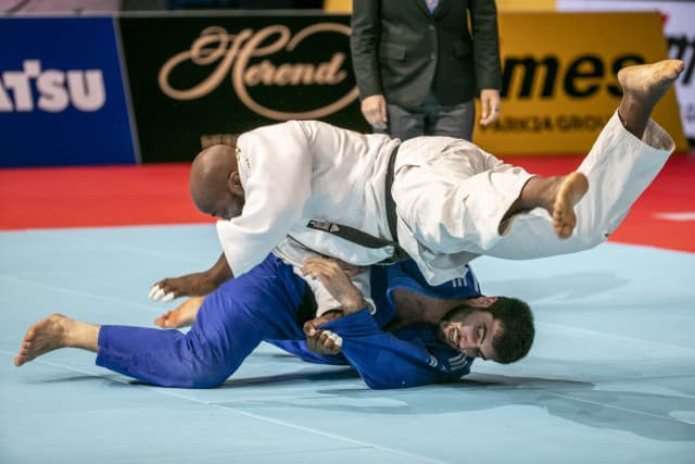 Jorge Fonseca won Portugal's first World Judo Championship gold in Tokyo in August ©IJF