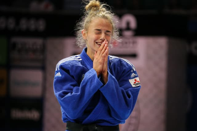 At 19, Daria Bilodid has won two world titles ©IJF