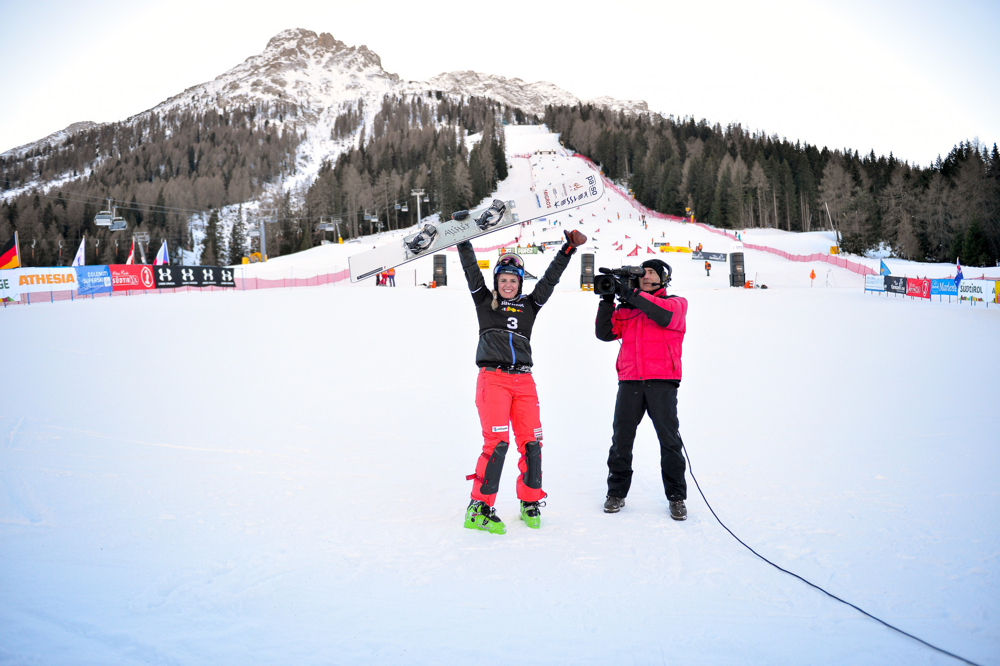 Carezza going green ahead of FIS Snowboard Alpine World Cup opener