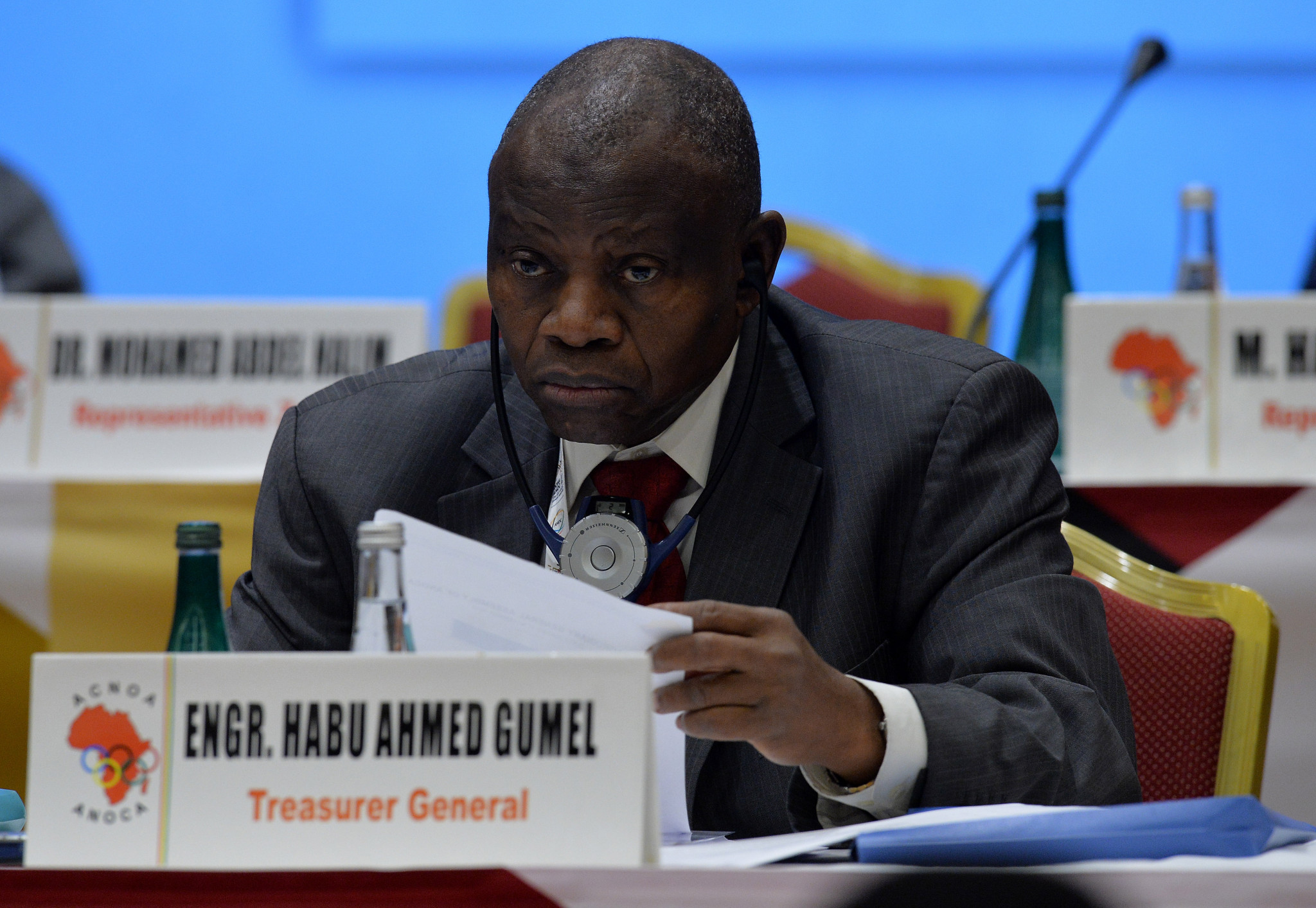 ANOC treasurer Habu Gumel is also named in the letter ©Getty Images