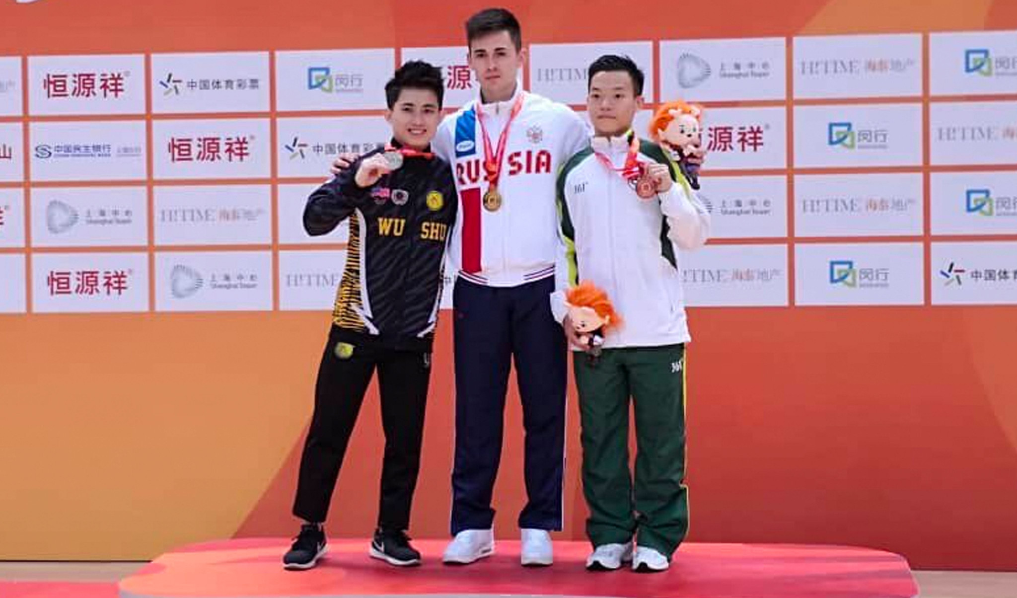Muratov claims qiangshu gold at World Wushu Championships