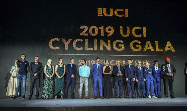 Road cycling world champions among those honoured at UCI Gala