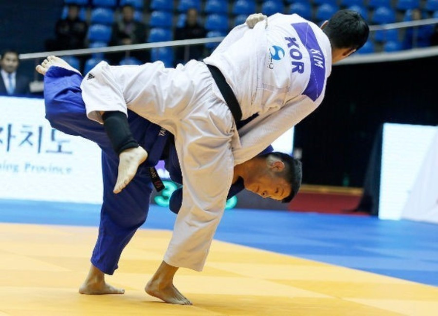 Hosts South Korea earn double gold on opening day of IJF Grand Prix