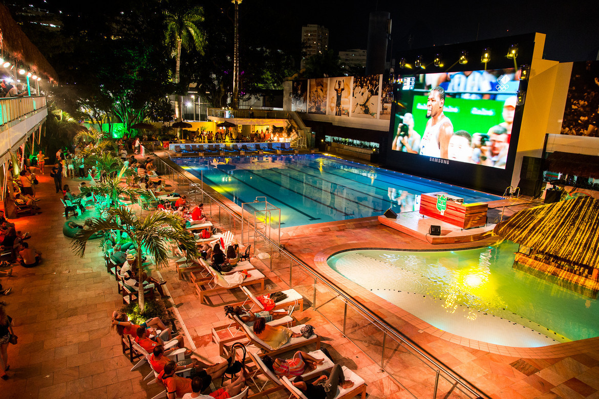 Heineken Holland House was located in Ipanema during Rio 2016 and welcomed 4,000 guests a day ©HHH