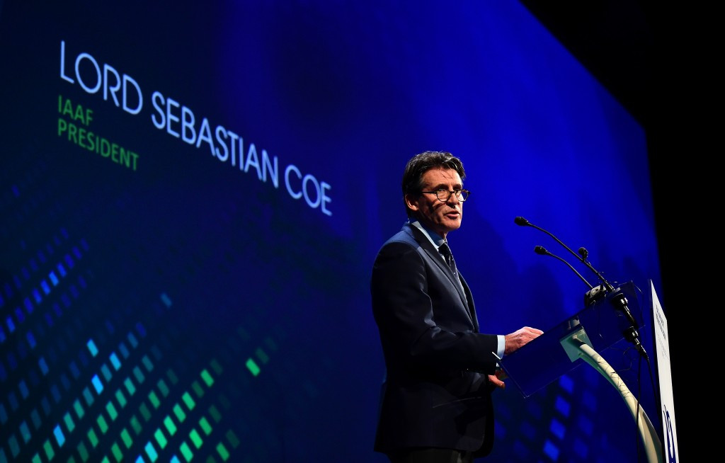 Sebastian Coe admitted his relationship with Nike was becoming a distraction to his work as IAAF President ©Getty Images