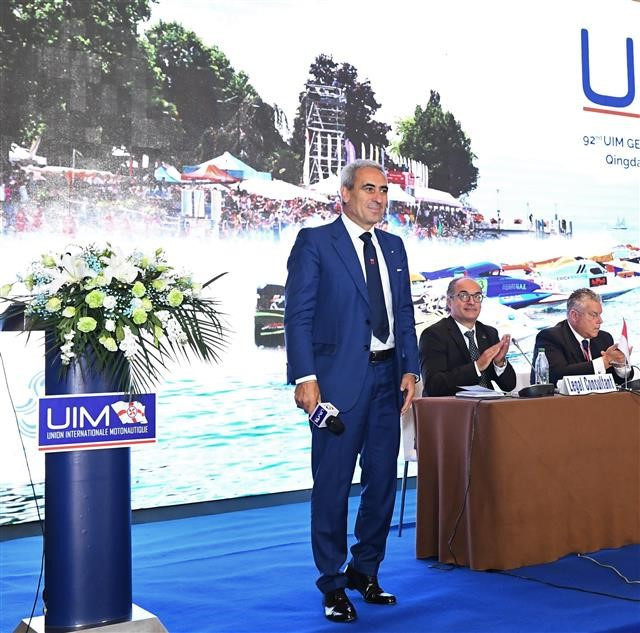 Chiulli re-elected President of International Powerboating Union