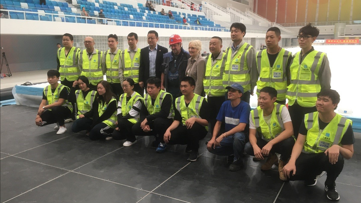 WCF President visits Beijing to discuss curling legacy after 2022 Winter Olympics